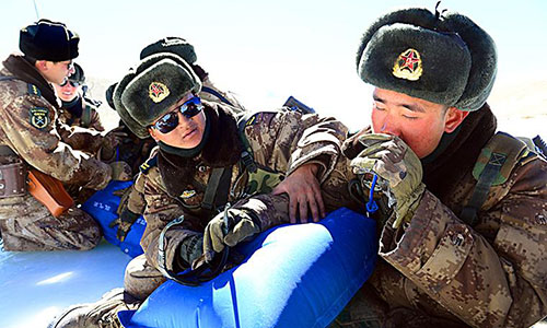China boosts its Tibet troops' combat capability with oxygen therapy etc while India reports a new border intrusion