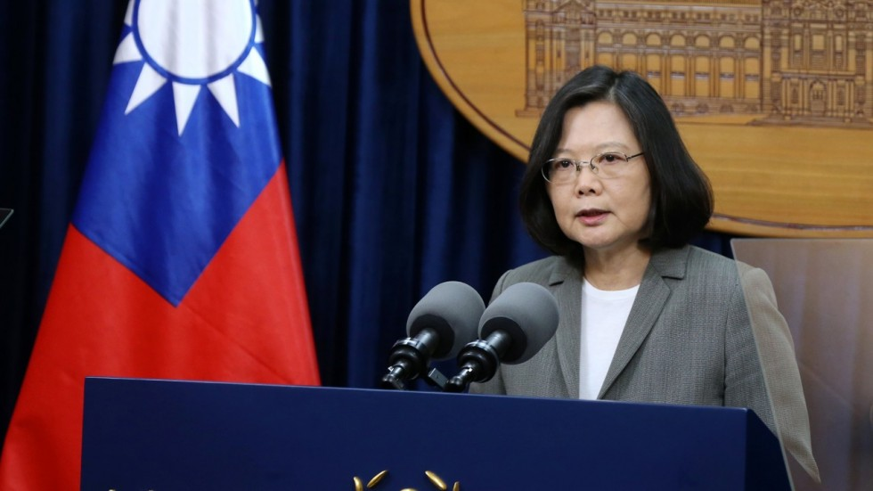 Taiwan President Dr Tsai Ing-wen. (Photo courtesy: SCMP)