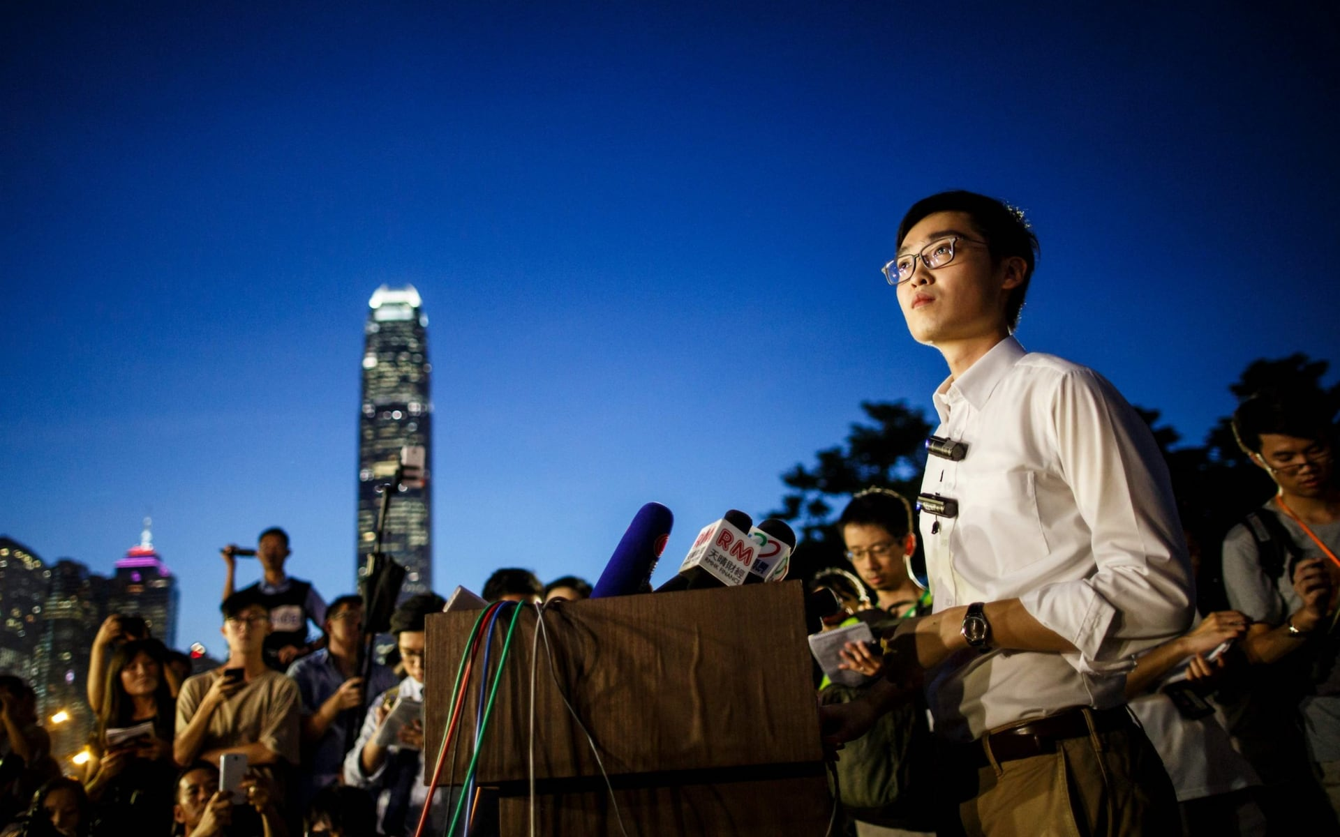 Hong Kong bans political party for alleged crime of urging independence
