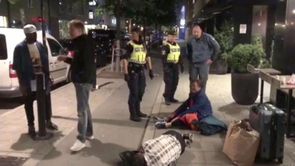 China accuses Sweden of protocol breach as row over police treatment of chinese tourists. (Photo courtesy: yahoonews)