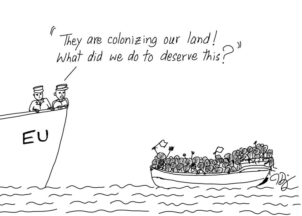 Colonizing Europe