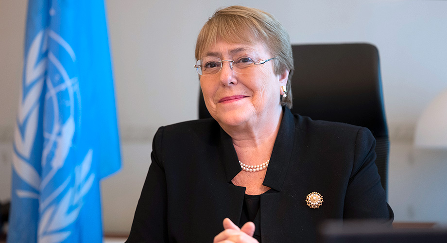 New UN Human Rights Chief Michelle Bachelet. (Photo courtesy: UN)