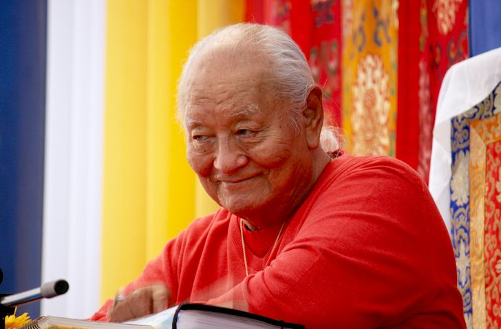 Professor Namkhai Norbu Rinpoche. (Photo courtesy: Lion's Roar)