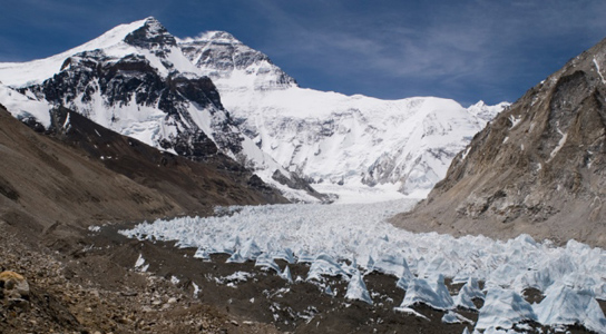 15 percent shrink in Tibet's glaciers in past 50 years, could affect barley crop