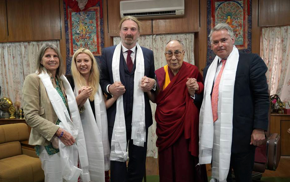 Visiting UK MPs speak of strong support for Tibet issue