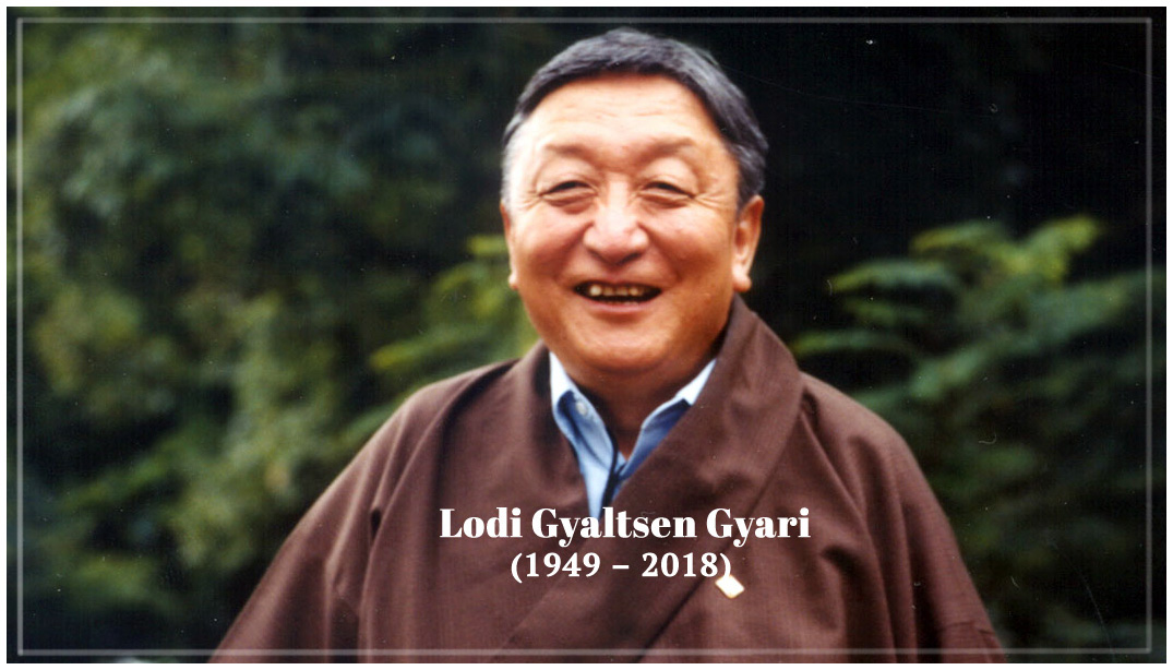 Mr Lodi Gyaltsen Gyari (1949 – Oct 29, 2018) Photo courtesy: ICT