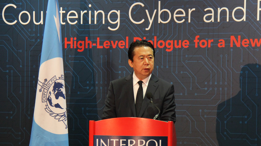 Mr Meng Hongwei, the missing Lyon-based Interpol chief whom China has confirmed is under detention for investigation. (Photo courtesy: AFP)