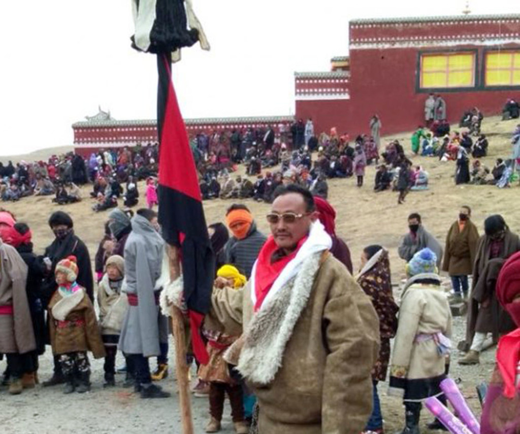 Shonu Palden, 41, former Tibetan political prisoner died on the way while being taken to hospital from his nomadic Rongkor Village in Bhelpan (Chinese: Awangcan) Township of Machu County in Kanlho (Gannan) Prefecture. (Photo courtesy: Free Tibet)