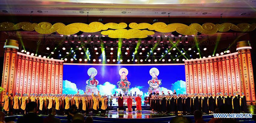 Fifth World Buddhist Forum in Putian, southeast China's Fujian Province. (Photo courtesy: Xinhua)