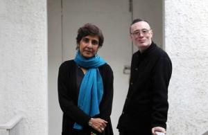 Ritu Sarin and Tenzing Sonam, Filmmaker couple. (Photo courtesy: Tashi Topgyal/Indian Express)