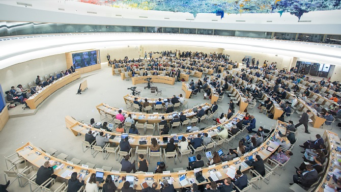 UN Human Rights Council.