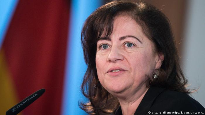 German Human Rights Commissioner Barbel Kofler. (Photo courtesy: DW)