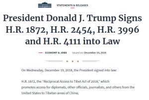 Recipocal Access to Tibet