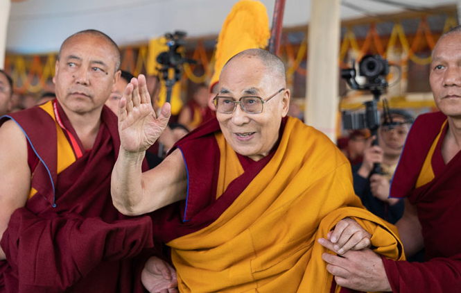 Dalai Lama to give five-day teaching at Dharamsala next month