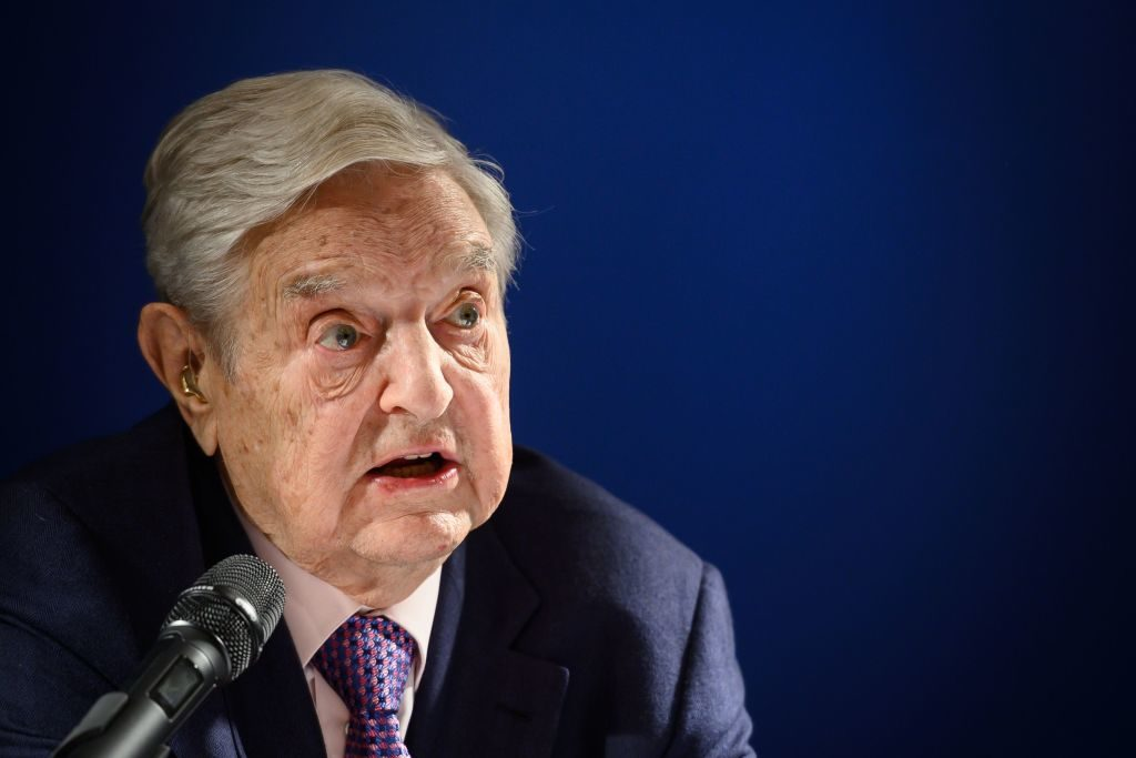 George Soros calls China's wealth, power and tech advances danger to the world