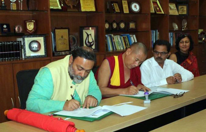 Tibetan Buddhist centre signs academic deal with Goa University