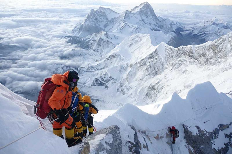 16 corpses of failed Mt Everest climbers on Tibet side found so far