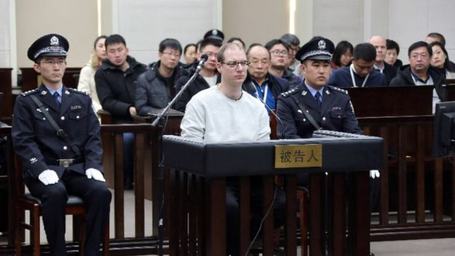 China sentences Canadian to death in tit-for-tat move