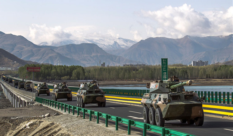 China's border troops equipped with new lightweight tanks for potential Himalayan conflicts