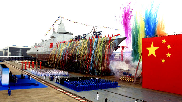 China names its newest guided-missile destroyer as 'Lhasa'