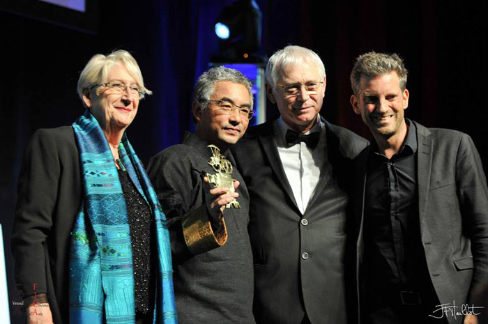 Tibetan filmmaker gets top prize at French festival of Asian films