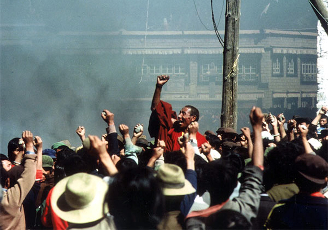 1987-1989 Tibet unrest stated to have shaved 27% off GDP per capita over 1988-2007