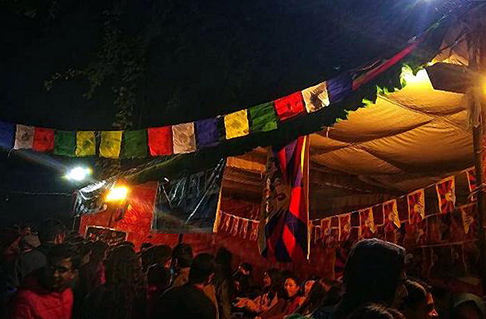 In Poor Taste:  Chinese Students Politicizing the International Food Festival at JNU