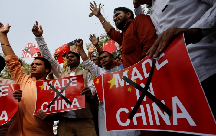 Indian traders to boycott Chinese goods