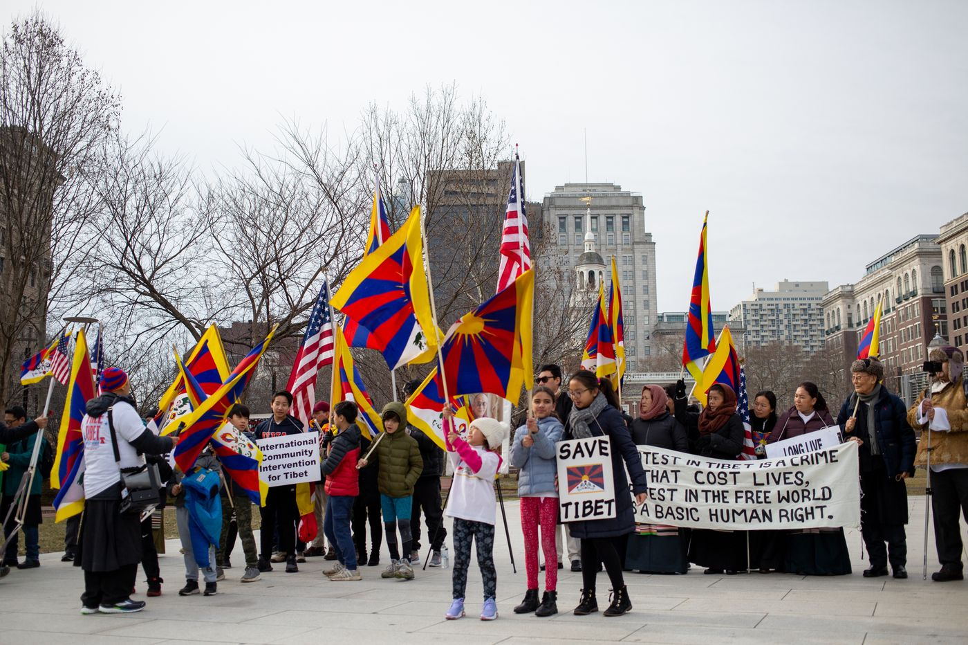 60th Tibet uprising day marked early in North America