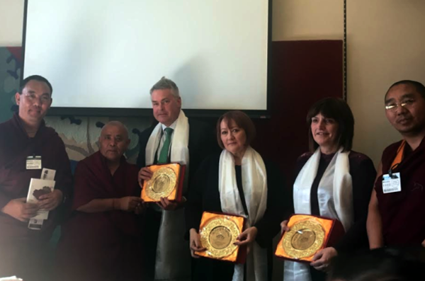 Exile Tibetan MPs conclude week-long visit to UK