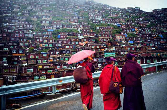 China bans new enrolments at famed Tibetan Buddhist learning centre
