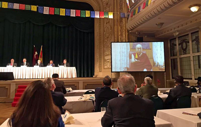 Gathering of lawmakers from around the world urge China to free up Tibet and settle issue