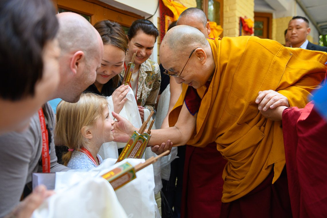 Thousands from 70 countries attending Dalai Lama's D'sala teachings