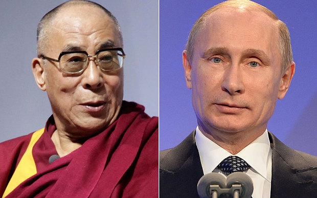 Russia's Putin says Dalai Lama not barred, but not sure about welcoming him