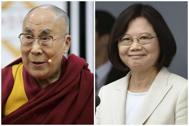 Taiwanese President accused of denying visa to Dalai Lama