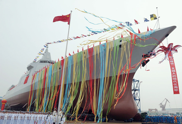 China to name one of its latest destroyers as Lhasa