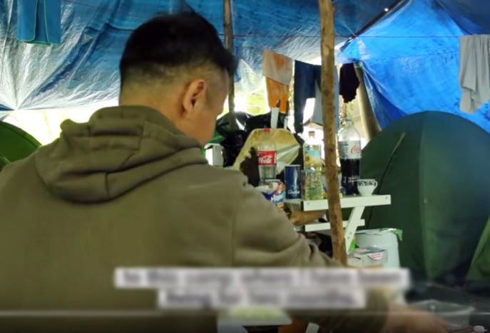 Tibetan asylum seekers in France rehoused after their camp dismantled, 80 others remain hopeful