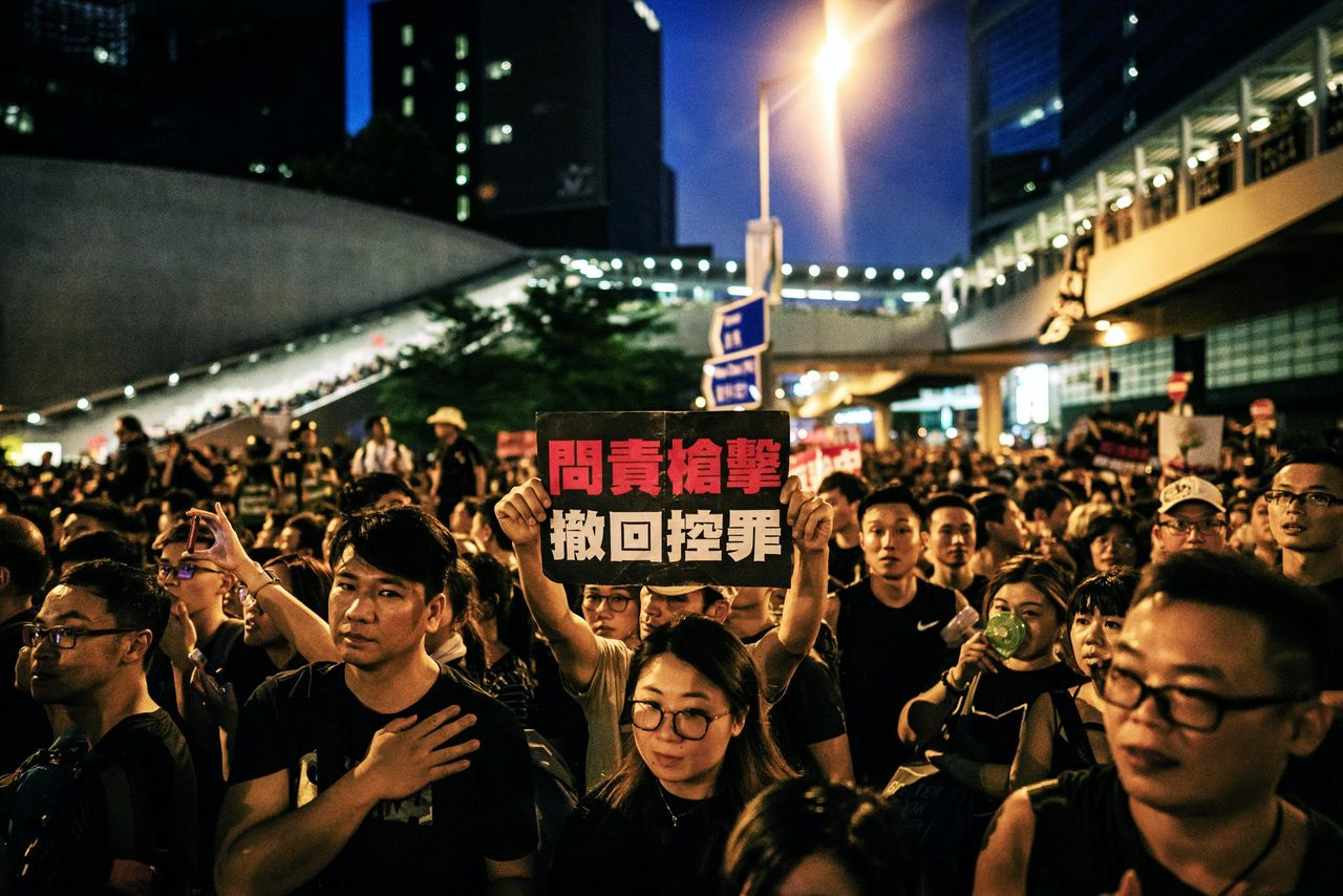 Two million protest in Hong Kong to demand withdrawal of China extradition bill