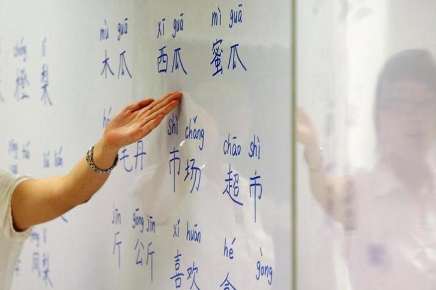 Many schools in Nepal make Mandarin compulsory as China provides free teachers