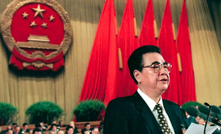 China calls the death of the 'Butcher of Beijing' a great loss to the party, nation