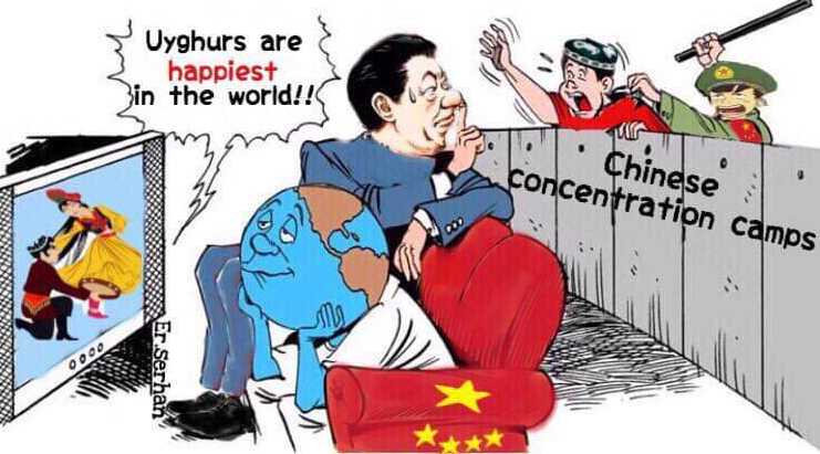 China rejects 'Stain of the century' criticism for its persecution of Uighurs