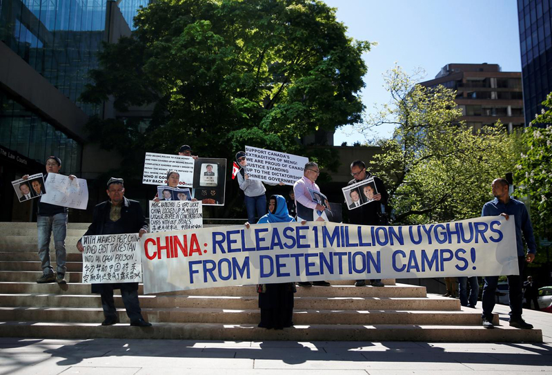 China angry at 22 countries' UN rebuke for its treatment of Xinjiang Muslims