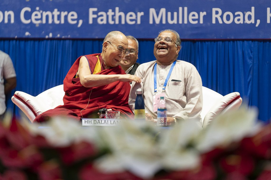 Dalai Lama addresses Indian Catholic schools' meet