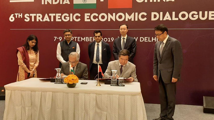 India and China refuse to let political differences stymie economic cooperation