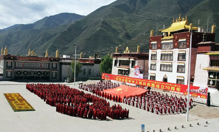China stage-managing mass Tibetan loyalty on 70th founding anniversary