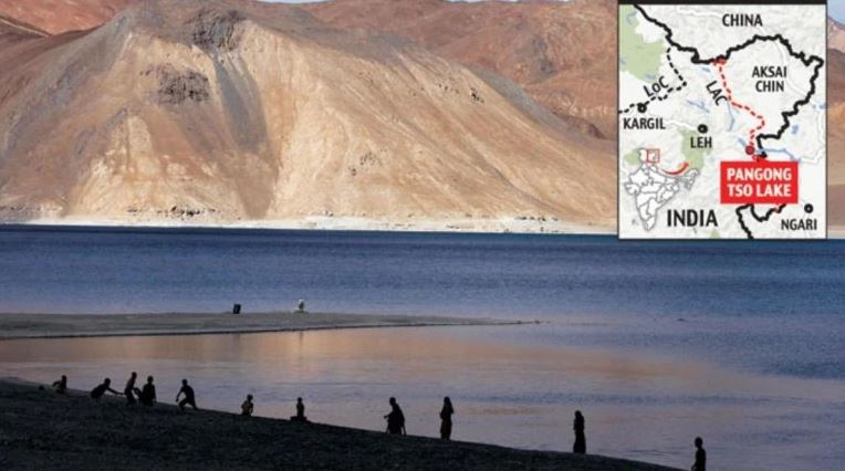Indian and Chinese soldiers broke up after day-long Ladakh border faceoff