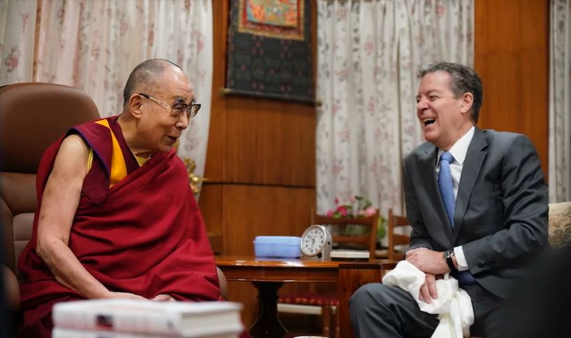 US religious freedom envoy in D'sala, declares gov't support for Tibetan rights