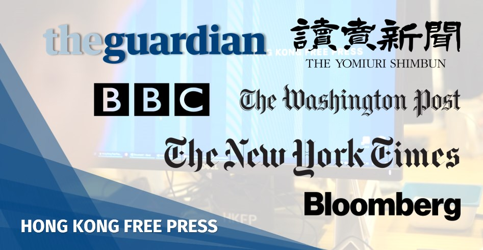 China blocks access to nearly a quarter of foreign news sites it has accredited