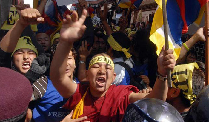 Nepal to charge Xi-visit arrested Tibetans for 'indecent behaviour'