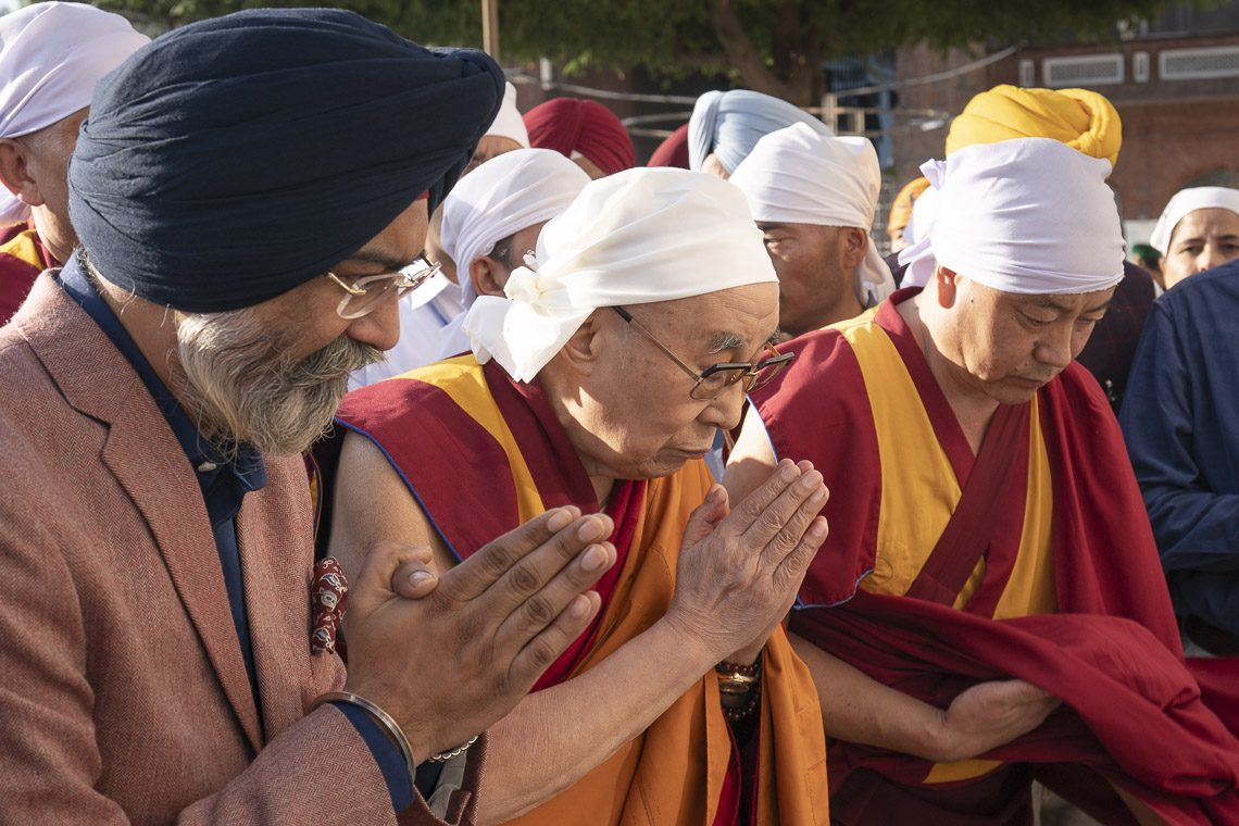 Dalai Lama addresses interfaith conference for 550th Sikh religion founder's birth anniversary